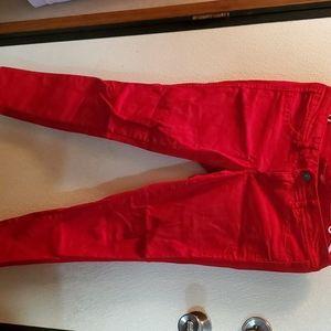 Red Bongo Skinny Jeans